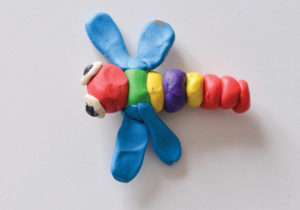 Play Dough Dragonfly