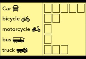 Vehicle list