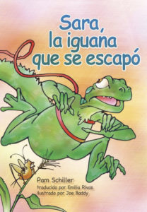 Sara la iguana que se escapó