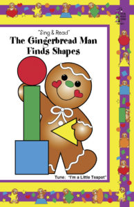 The Gingerbread Man Finds Shapes